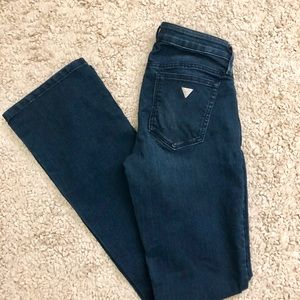 Guess Kate Bootcut Dark wash Jeans